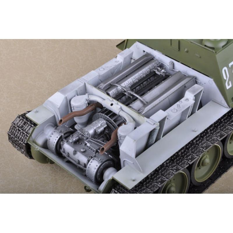 trumpeter 00915 modellbausatz 1 16 soviet su 100 tank. Black Bedroom Furniture Sets. Home Design Ideas