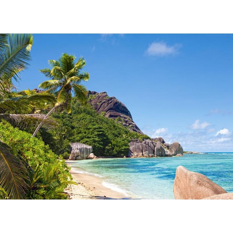 Seychelles Beach: Castorland Puzzle C-300228 Tropical Beach, Seychelles