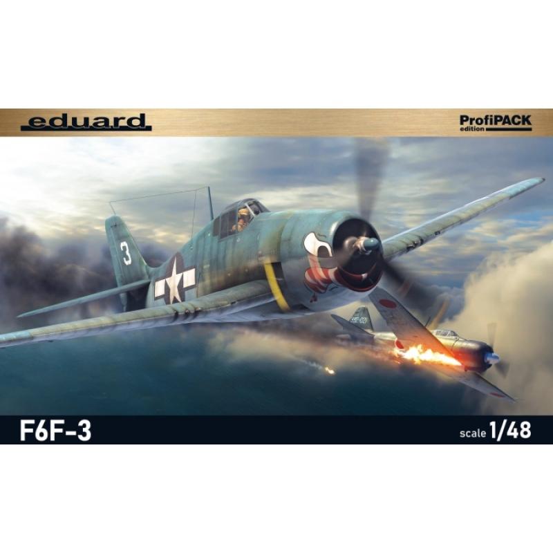 F6F-3 Hellcat 1//48 Eduard Modellbausatz 8227 Profi Pack