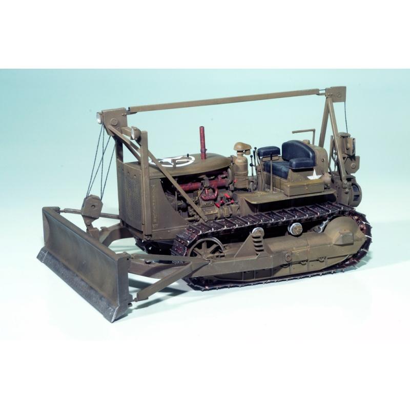 miniart 35184 modellbausatz 1 35 u s army tractor w. Black Bedroom Furniture Sets. Home Design Ideas