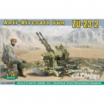 ZU-23-2 AA Anti-aircraft gun - ACE 1/48