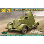 BA-20 light armored car,late prod. - ACE 1/48