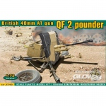 QF 2 pounder British 40mm AT gun - ACE 1/72