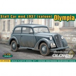 Olympia (saloon) staff car, model 1937 - ACE 1/72