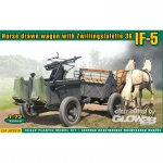 IF-5 horse drawn wagon (Type 36) - ACE 1/72