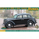 Olympia (4 door saloon) staff car, 1938 - ACE 1/72
