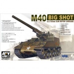 M40 Big Shoot (U.S. 155mm Gun Motor Carriage) - AFV Club...