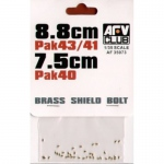 Brass Shield Bolts - AFV Club 1/35