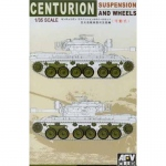 Centurion Suspension and Wheels - AFV Club 1/35