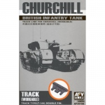 Ketten für Churchill (T-144) - AFV Club 1/35