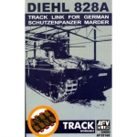 Diehl 828A Track Link for German SPz Marder (workable) -...