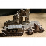 88mm Gun and Tractor - Airfix 1/76