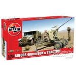 Bofors Gun and Tractor - Airfix 1/76