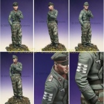 Panzer Officer Grossdeutschland - Alpine Miniatures 1/16