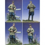 Russian Officer 1943-45 - Alpine Miniatures 1/35