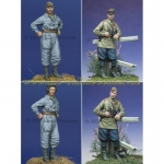 Russian Tank Crew Set 1943-45 - Alpine Miniatures 1/35