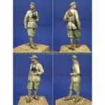 DAK Panzer Officer - Alpine Miniatures 1/35