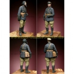 Russian Tank Commander WWII - Alpine Miniatures 1/35