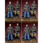 Russian Tank Crew Set WWII - Alpine Miniatures 1/35