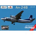 Antonov An-24B Polish / DDR-Airlines - Amodel 1/144