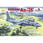 Antonov An-26 (late version) - Amodel 1/72