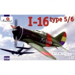 I-16 type 5/6 Soviet Fighter - Amodel 1/72