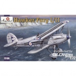 Hawker Fury I/II USAF Fighter - Amodel 1/72