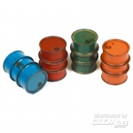 Civilian Fuel Drums (4pcs.) - Add On Parts 1/35