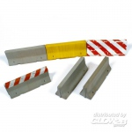 Concrete Barriers, Type 1 - Add On Parts 1/35