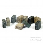 Ammunition Boxes for 20mm Pak - Add On Parts 1/35