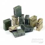 Ammunition Boxes for 20mm Flak - Add On Parts 1/35