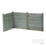 Concrete Fence Type 1 - Add On Parts 1/35