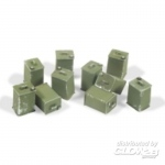 British Fuel Canisters - Add On Parts 1/35