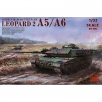 Leopard 2 A5/A6 - Border Model 1/35