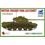 British Cruiser Tank A34 Comet - Bronco 1/35