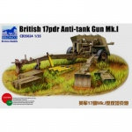 British 17pdr Anti-Tank Gun Mk.I - Bronco 1/35