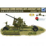 Canadian 40mm Bofors Anti-Aircraft Gun - Bronco 1/35