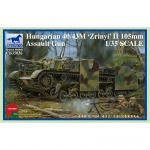 Hungarian 40/43M Zrinyi II 105mm Assault Gun - Bronco 1/35