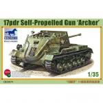 17pdr Self-Propelled Gun Archer - Bronco 1/35