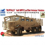 Buffalo 6x6 MPCV w. Slat Armour Version - Bronco 1/35