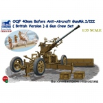 OQF 40mm Bofors Anti-Aircraft Gun Mk.I/III (British...
