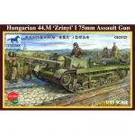 Hungarian 44.M Zrinyi I 75mm Assault Gun - Bronco 1/35
