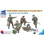 WWII British Paratroops in Combat Set B