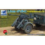 2.8cm sPzB41 on Larger Steel-Wheeled Carriage w. Trailer...