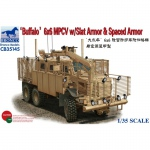 Buffalo 6x6 MPCV w. Slat Armor & Spaced Armor - Bronco 1/35
