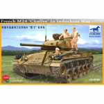 French M24 Chaffee in Indochina War - Bronco 1/35