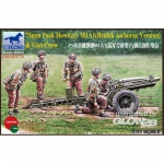 75mm Pack Howitzer M1A1 (British Airborne Version) & Gun...