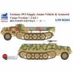 German sWS Supply Ammo Vehicle & Armored Cargo Version...