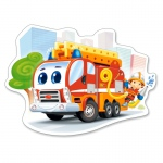 PUZZLE Fire Engine (12 Teile, Maxi)