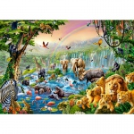 PUZZLE Jungle River (500 Teile)